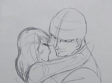 「ヤマト設定・恋する二人ラフ」1.jpg