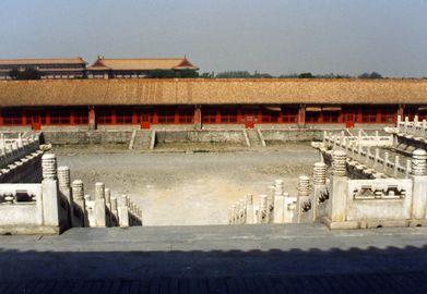 「中国・宮殿から見た庭」1.jpg